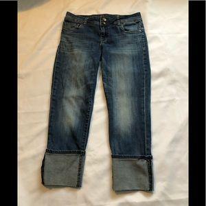 Women's KUT Capri Jeans.